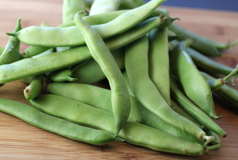 Now's the time for these broad beans.