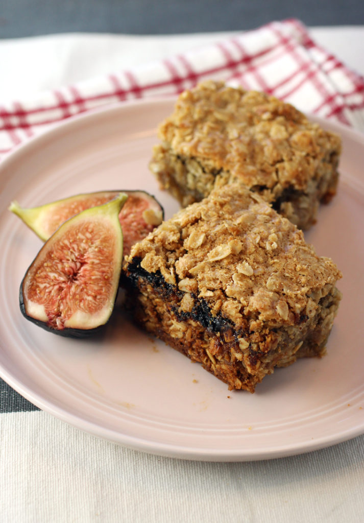 These delicious, hearty oat bars get baked up with a layer of homemade fig jam.