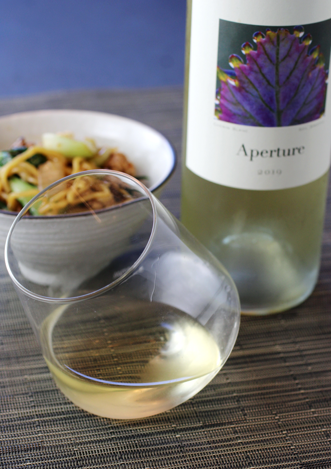 A new release from Aperture Cellars, from its new winery.