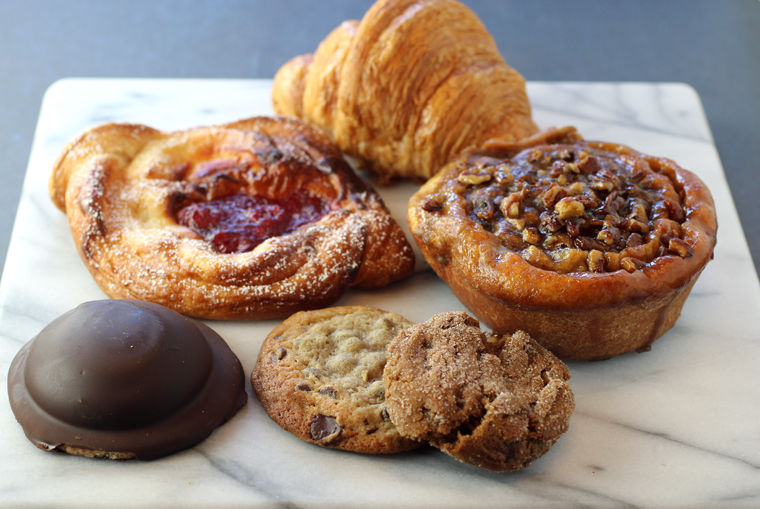 Impeccable pastries from Crispian Bakery.