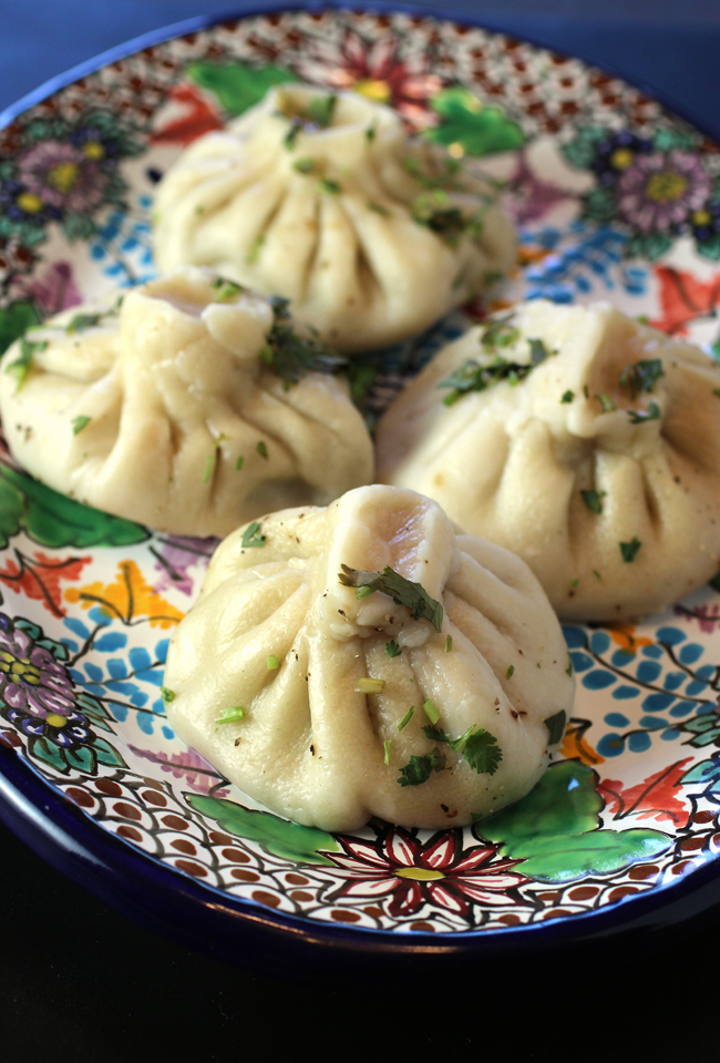 Famed Georgian dumplings.