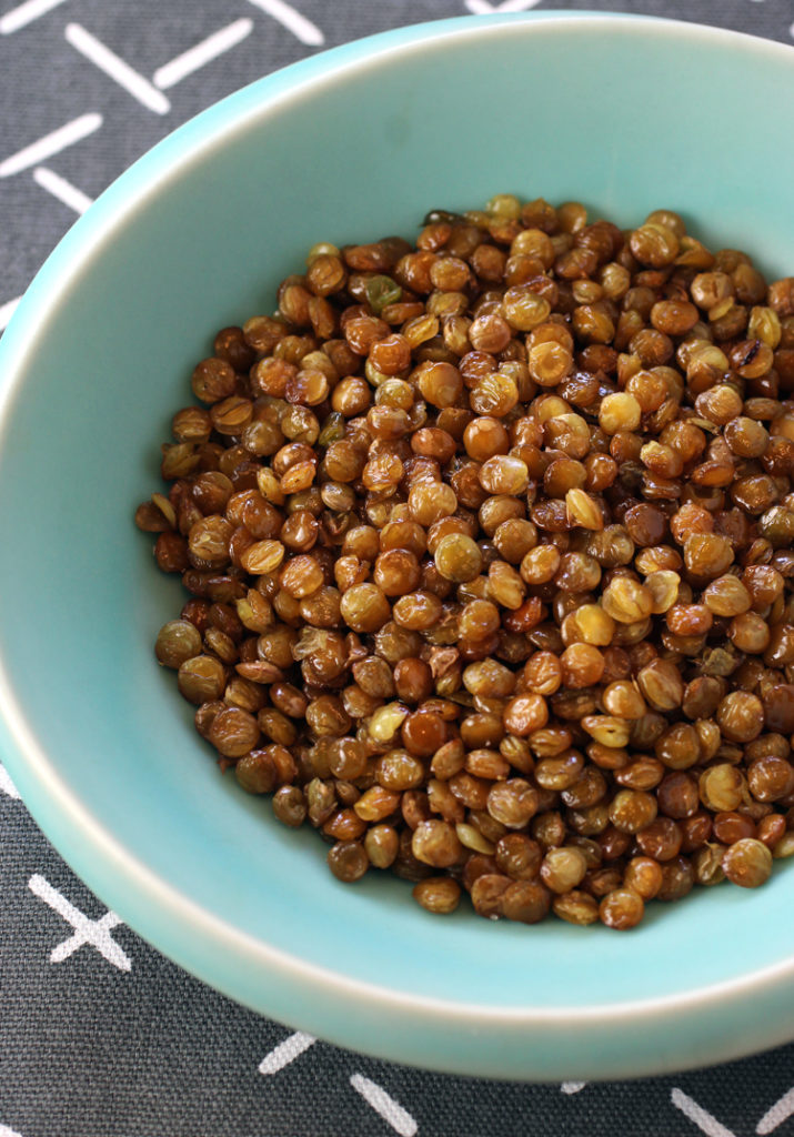 Teeny crisp, fried lentils aim to be the next snack sensation.