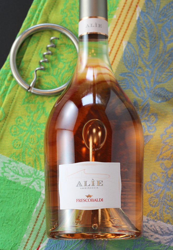 A Tuscan rosé in a unique bottle.
