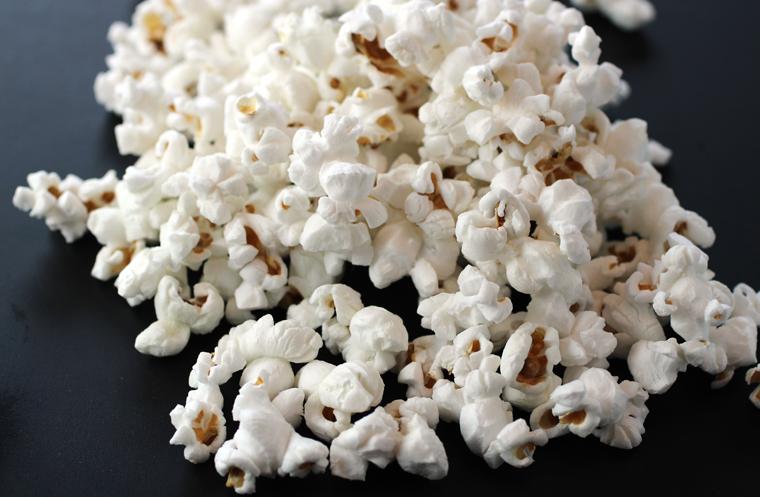 Yes, popcorn!