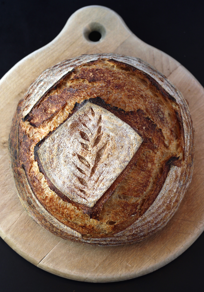 Camper's house-made sourdough.
