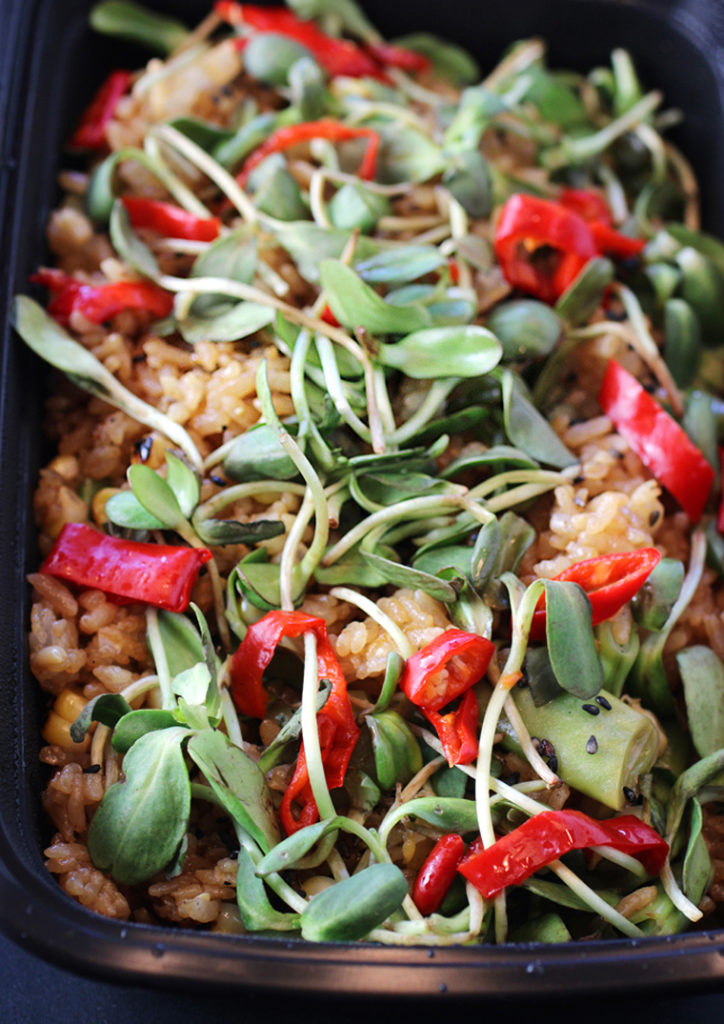 Camper's version of fried rice will open your eyes and palate.