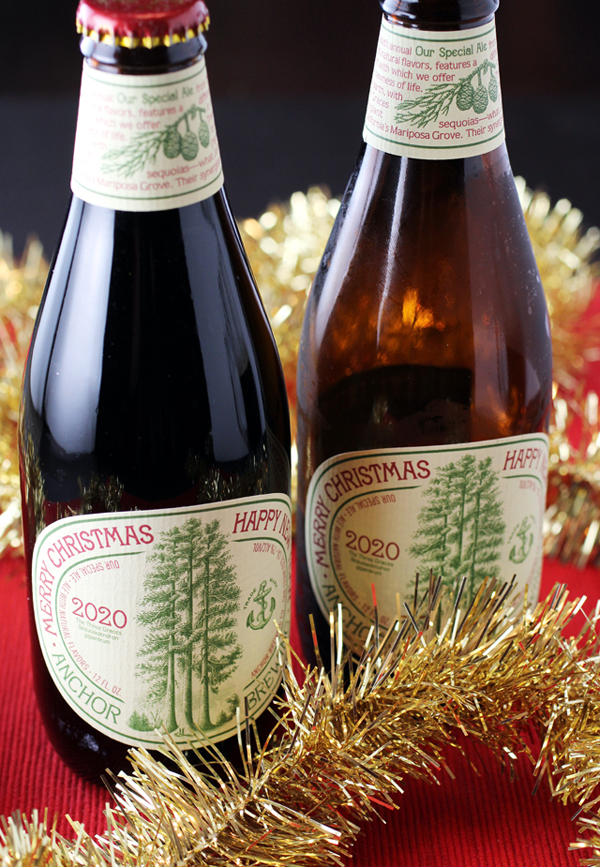 With an homage to Yosemite's sequoias on its label.