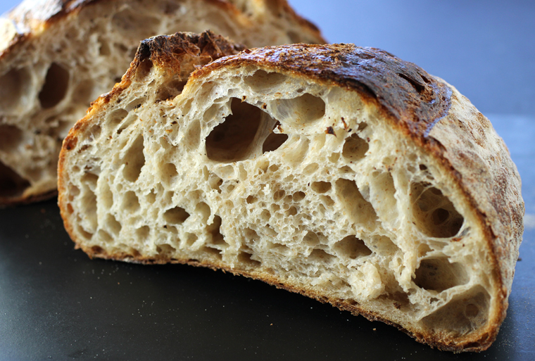 A glorious country boule from Backhaus Bakery.