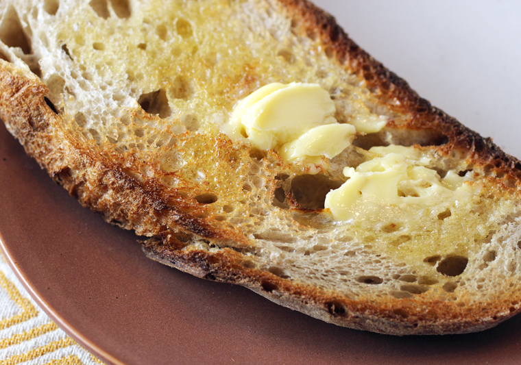 Le Bourdier butter is as rich, creamy and indulgent as it gets.
