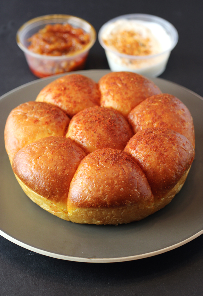 Irresistible pao pull-apart rolls.