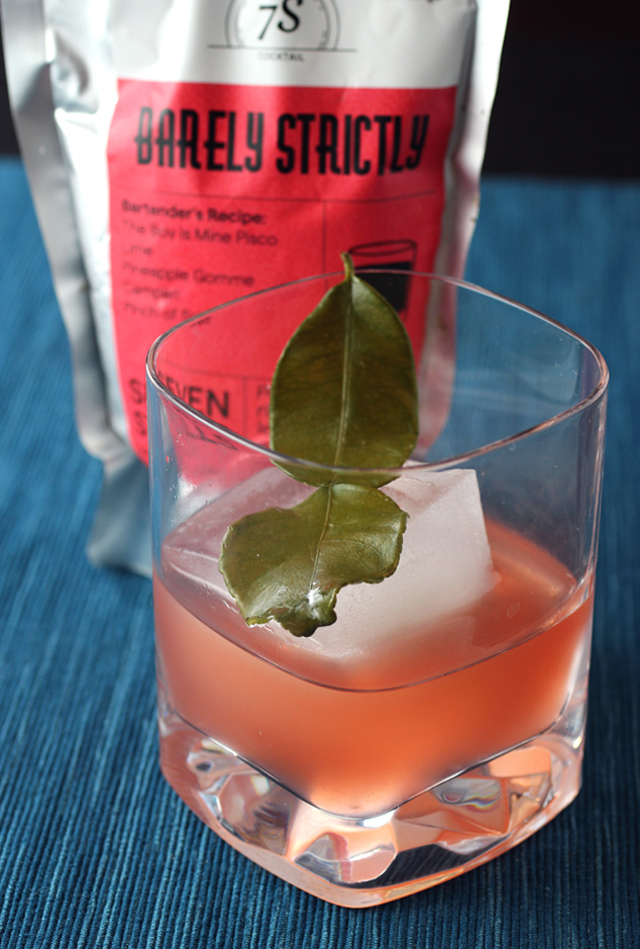 "Seven Stills' ""Barely Strictly'' cocktail."