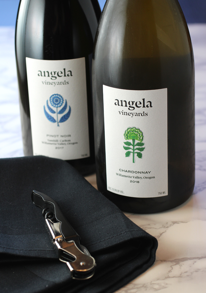 New releases from Oregon's Angela Vineyards.