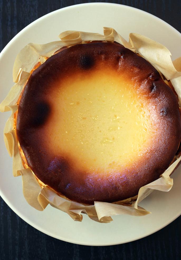 Dessert nirvana -- a Basuku Cheesecake.