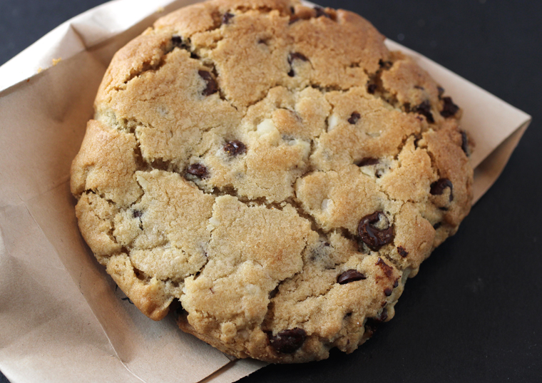 An outstanding chocolate-macadamia nut cookie.