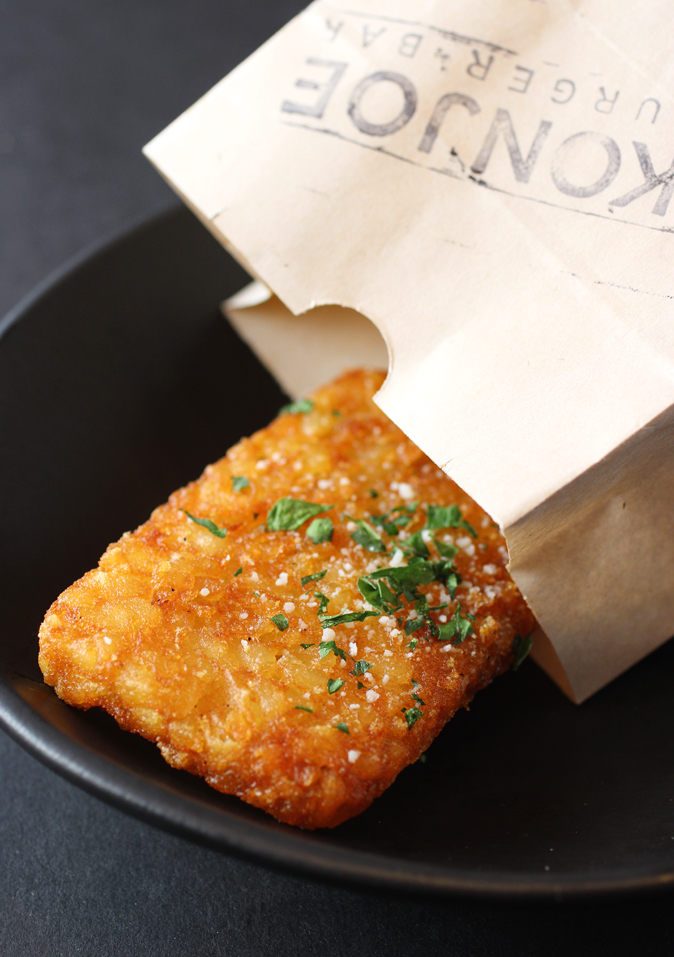 The truffle hash brown.