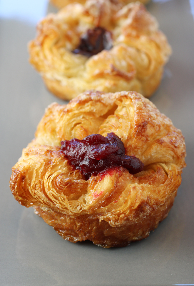 Pastry perfection in a cranberry-ginger kouign-amann.