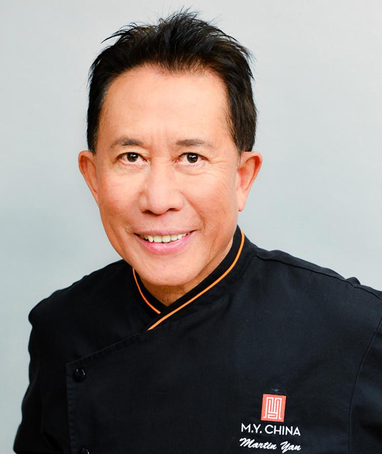 Chef Martin Yan. (photo courtesy of Yan Can Cook)