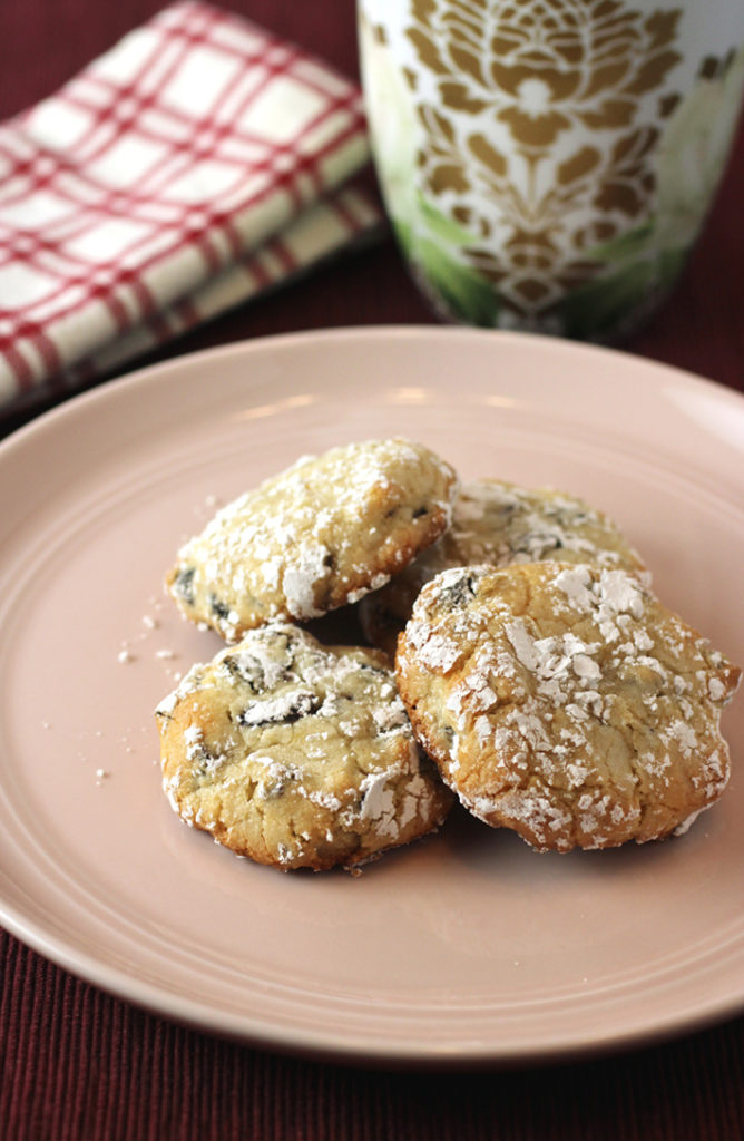 Studded with dried cherries and made with almond flour, these divine cookies are also gluten-free.