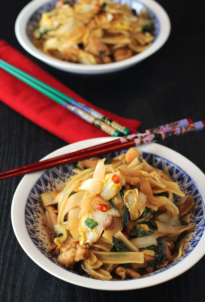 A tasty Thai noodle dish -- with a little tweaking.