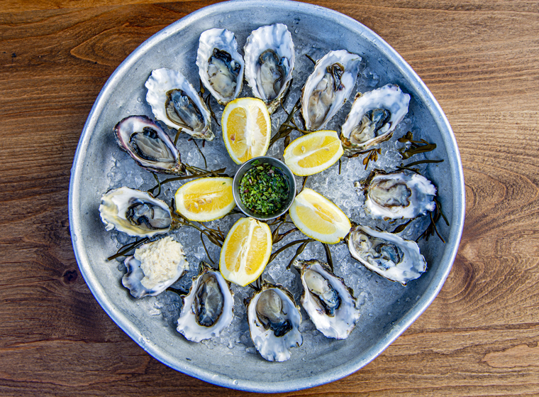Get your fix of oysters at Left Bank Brasseries on March 31. (Photo courtesy of Left Bank)