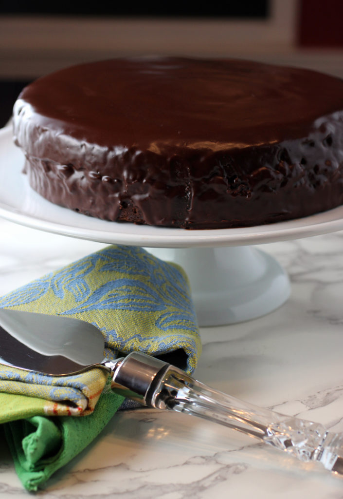 It's every bit as rich and wonderful as it looks -- Sacher Torte, a Viennese classic.
