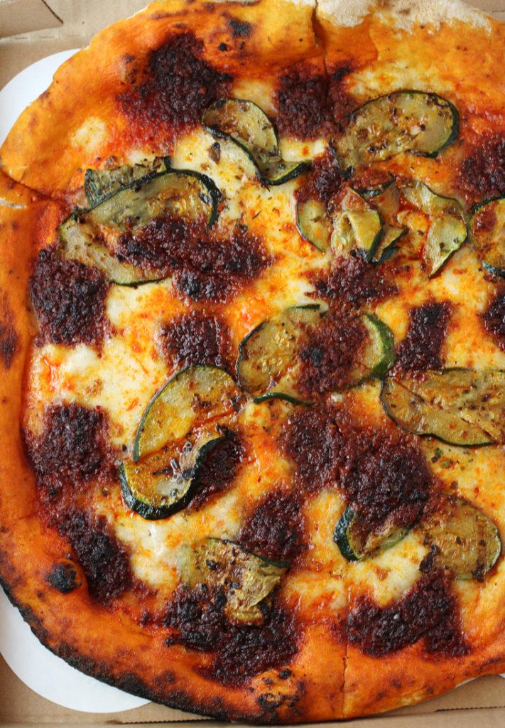 Spicy nduja pizza from Terun.
