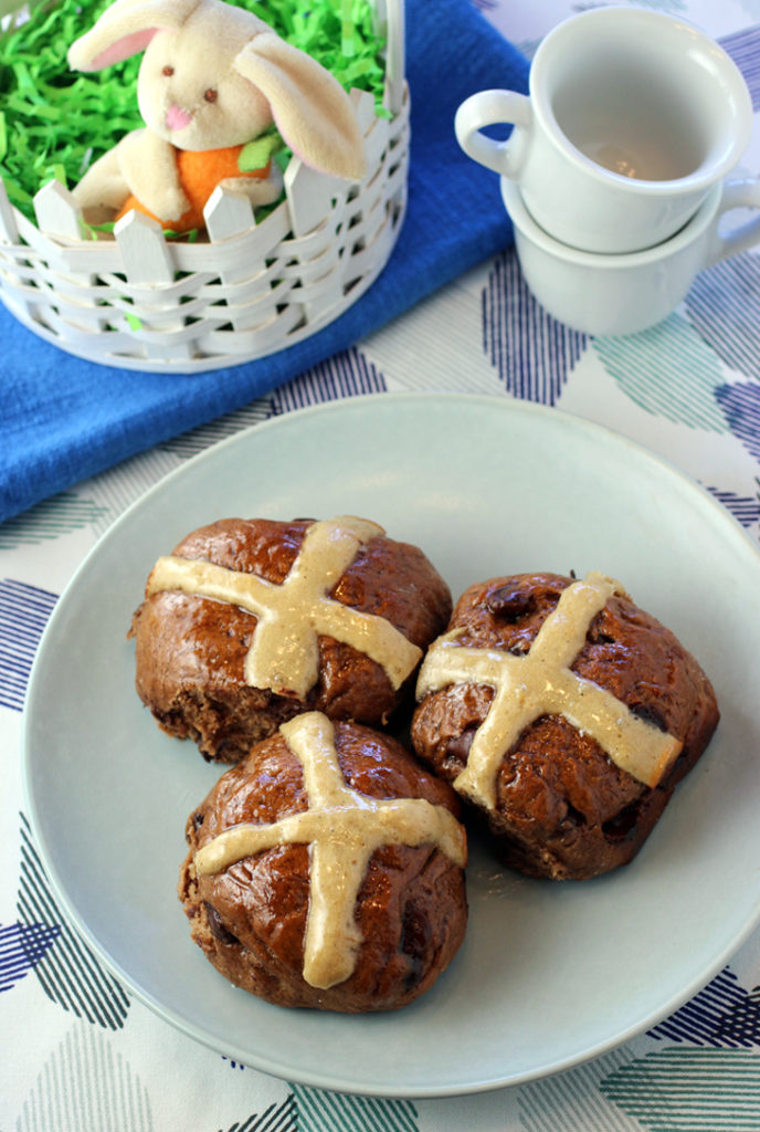 My favored hot cross buns for Easter.