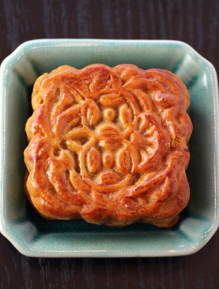 Beautiful hand-crafted mooncakes.