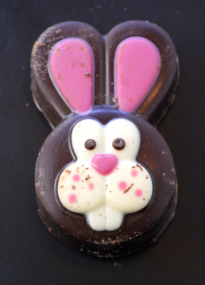 This little guy is made with a rocky road filling.