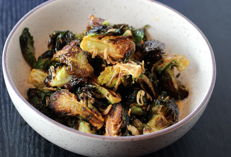 Thai Brussels sprouts.