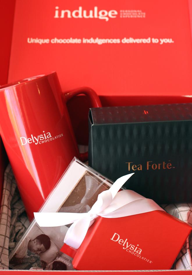The virtual chocolate and tea tasting kit.