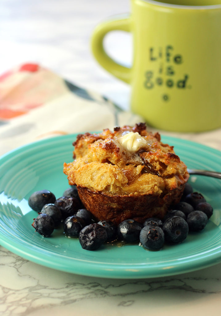 All the wonderfulness of French toast -- in a convenient muffin form.
