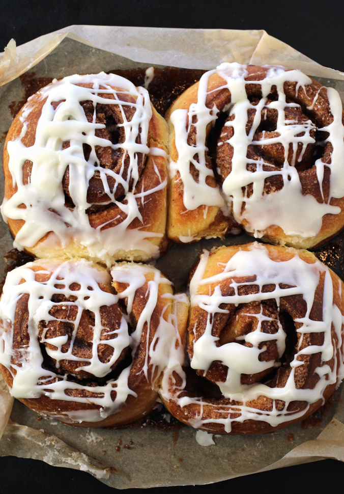 Brioche cinnamon rolls from Nabeela's Bakery to fall head over heels for.