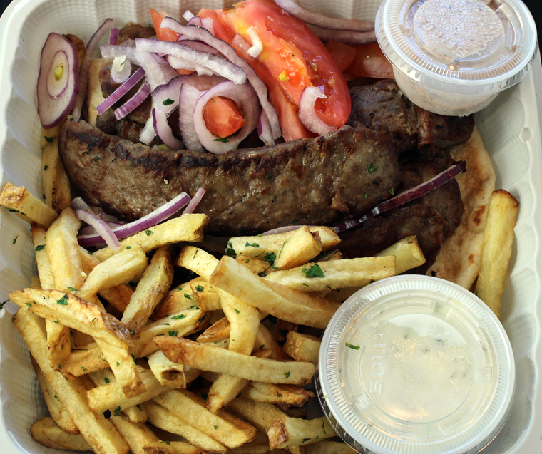 The gyro plate.