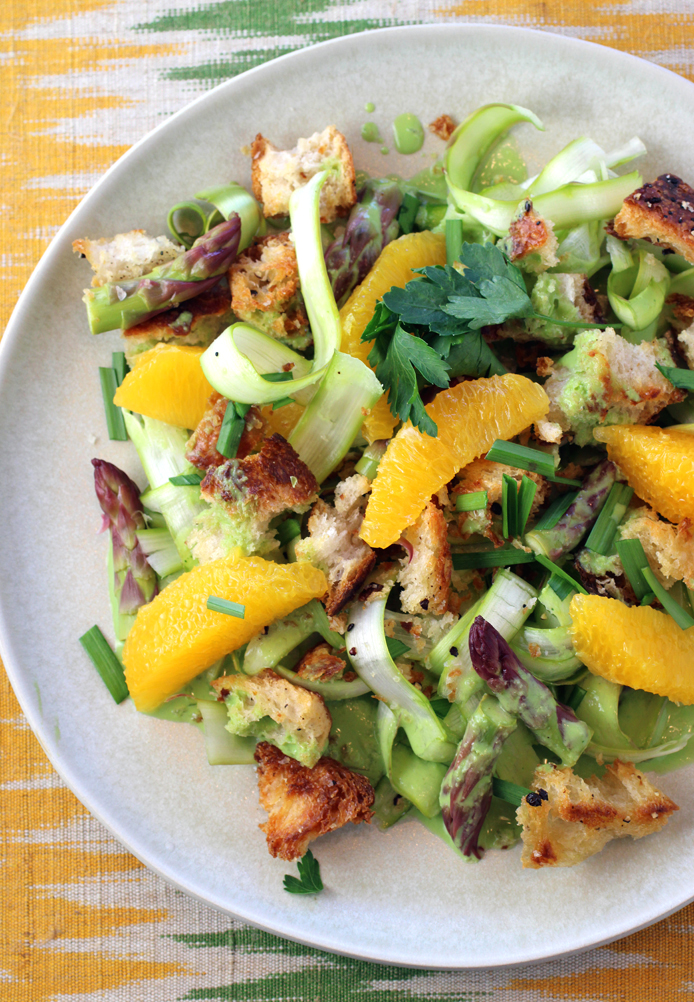 A salad that is the epitome of spring.
