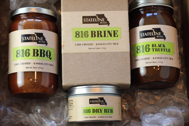 Stateline Road BBQ's line of products.