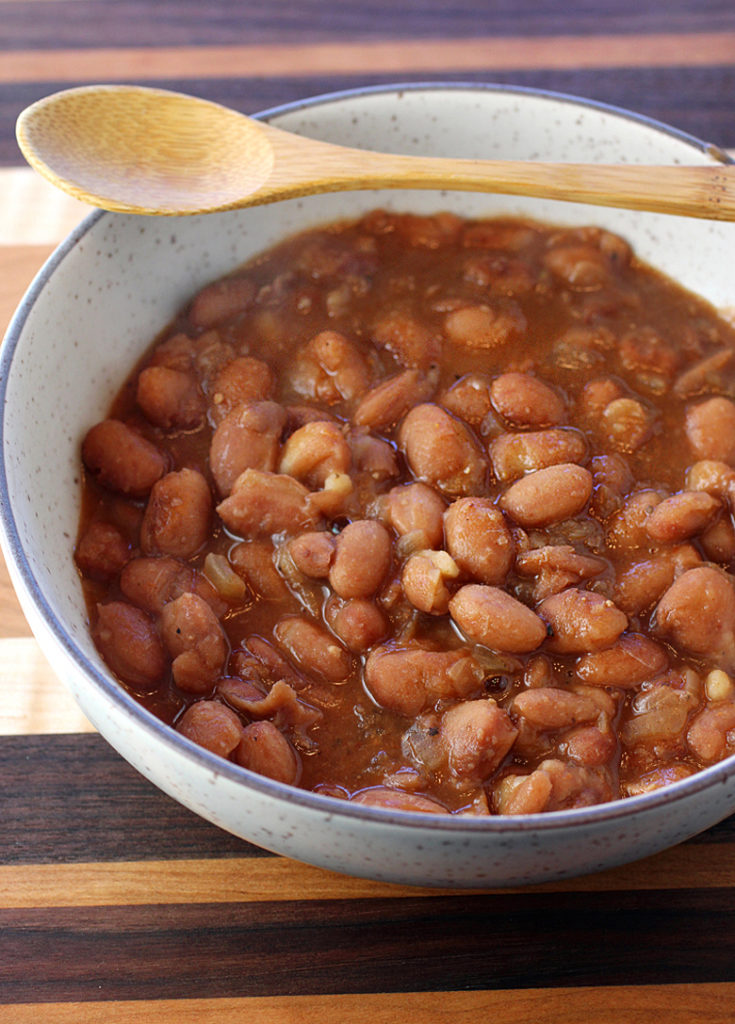 These beans may not look like much, but they are some of the tastiest I have ever made or had.