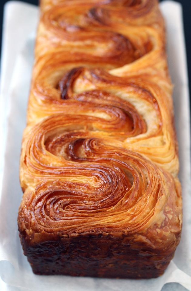 The jaw-dropping brioche feuilletee.