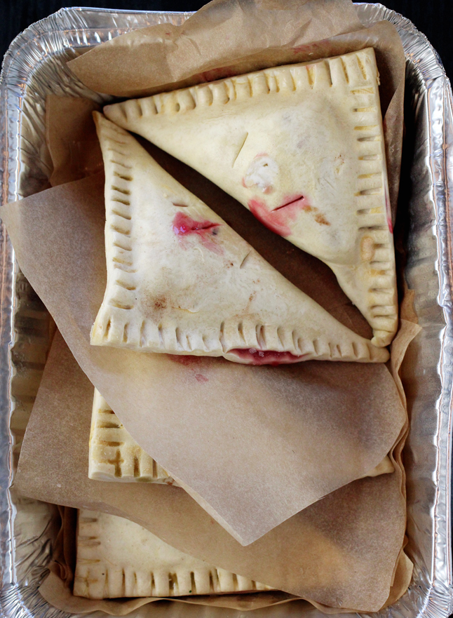 Frozen turnovers.
