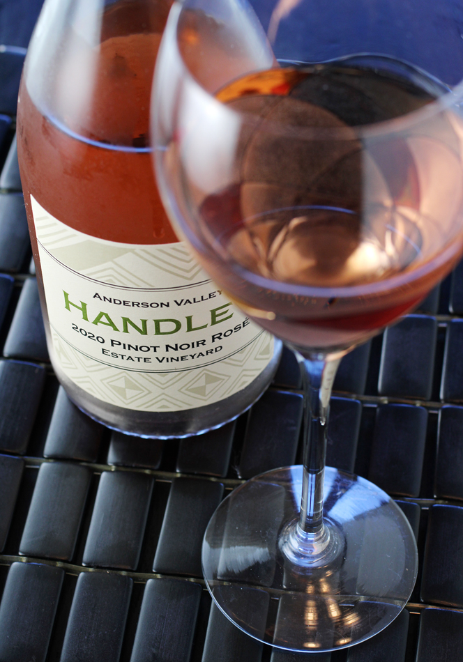 Summer was made for a lovely rosé like this one.