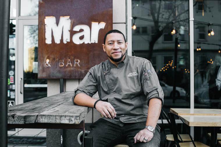 Chef-Owner Nelson German. (Photo by Melati Citrawireja)