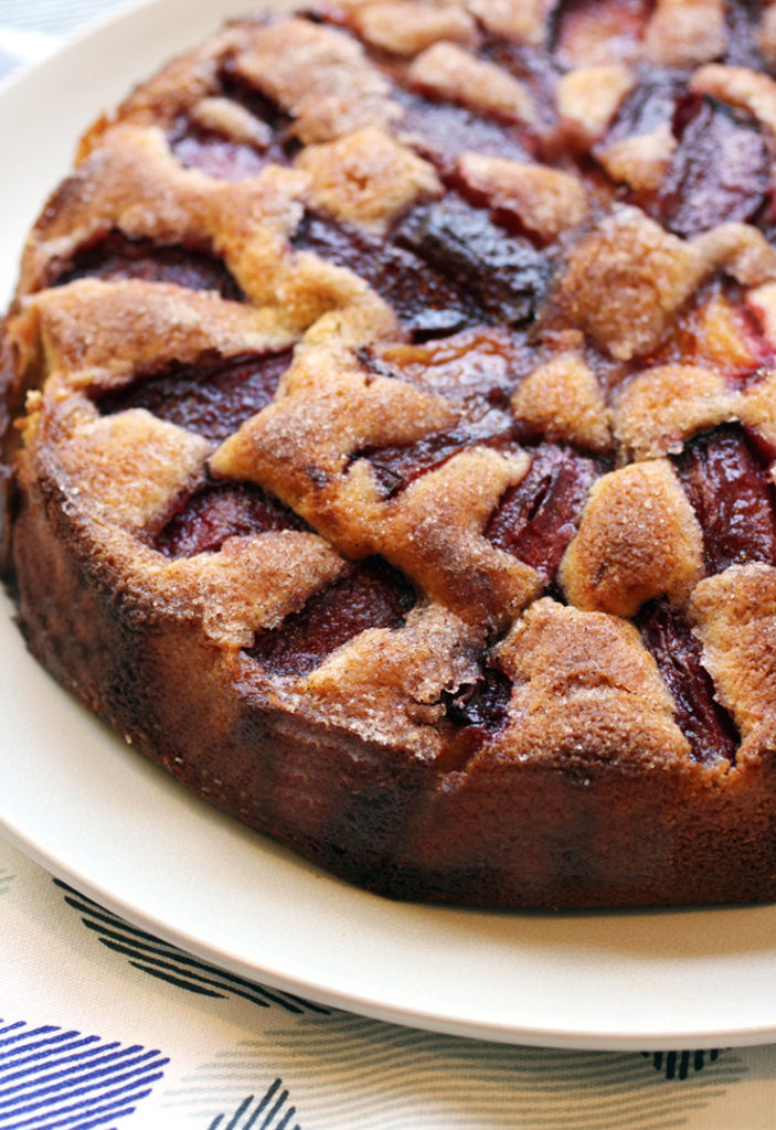Summer was made for plum-filled cake.