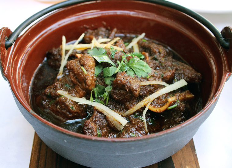 Not-to-be-missed goat curry.