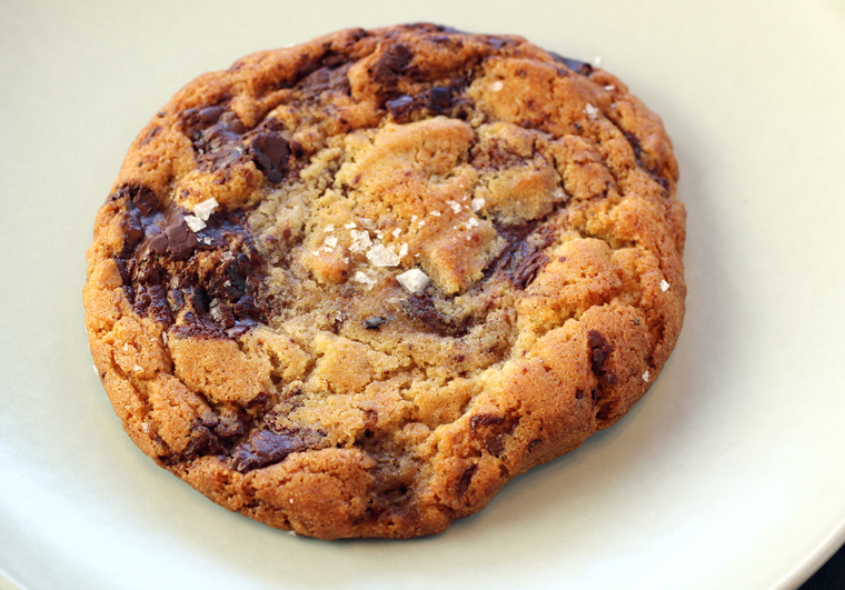 Brown butter chocolate chip cookie with sea salt for your added pleasure.